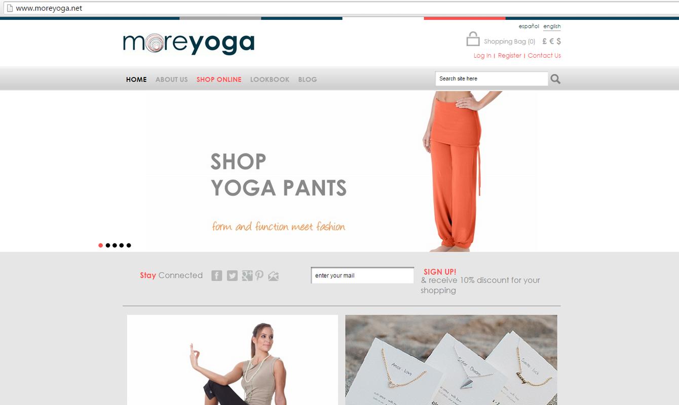 www.Moreyoga.net Tienda Online
